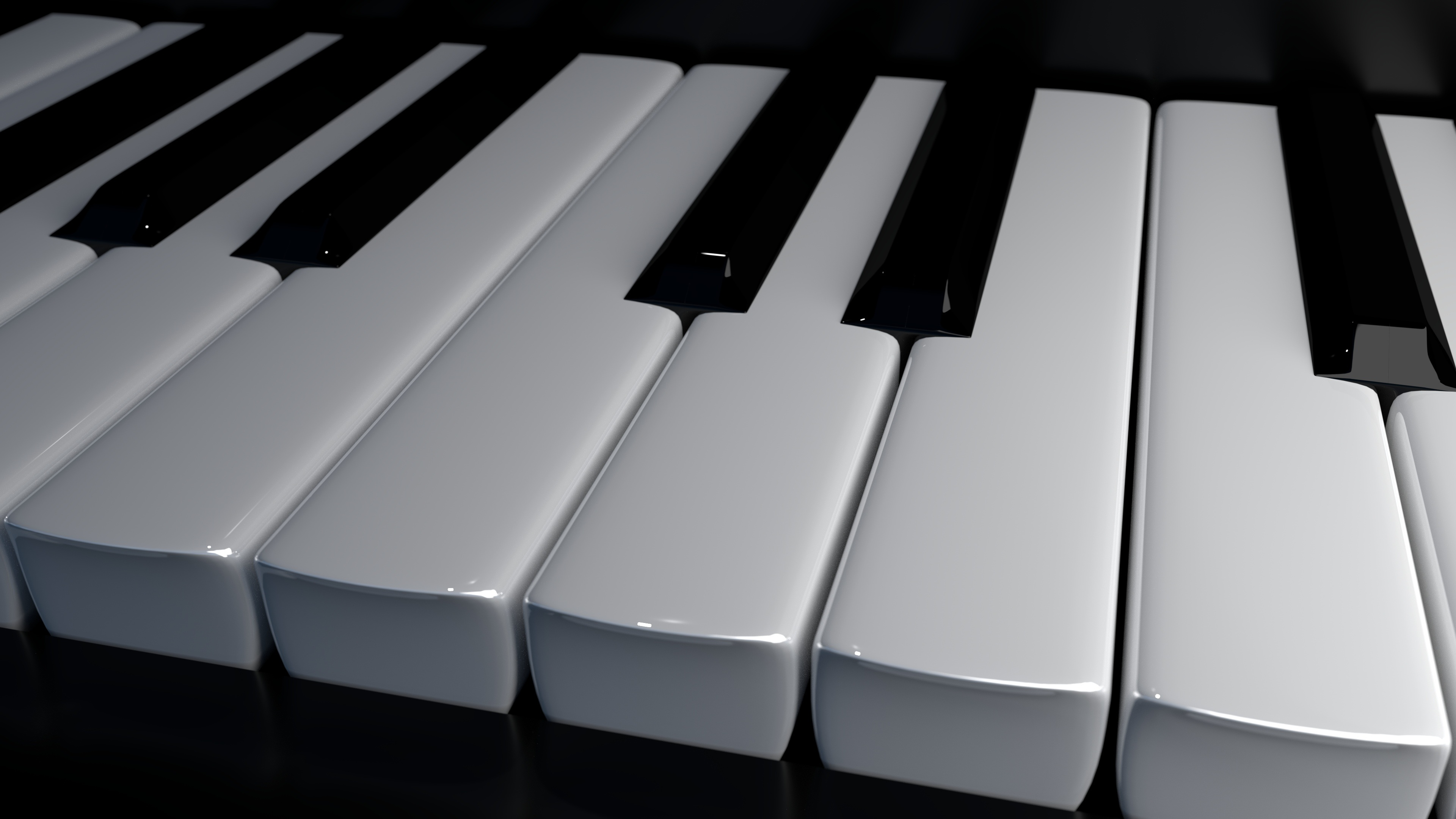 Piano Keyboard 4k Uhd Wallpaper