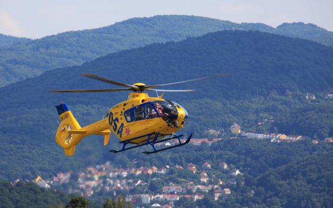 Rescue Helicopter DSA OK DSB Delta System Air Eurocopter EC135