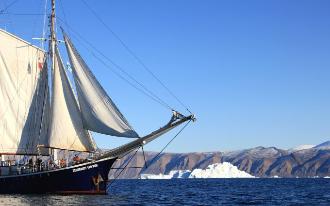 Sailboat in Greenland 2