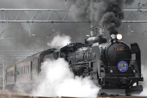 Steam Train in Japan