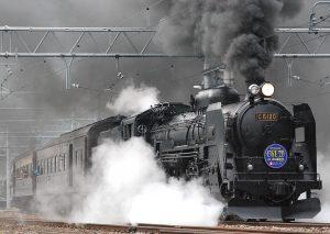 Steam Train in Japan HD
