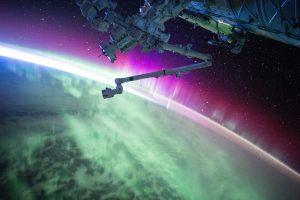 Stunning Aurora Borealis from Space
