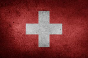 The flag of Switzerland (Grunge) HD