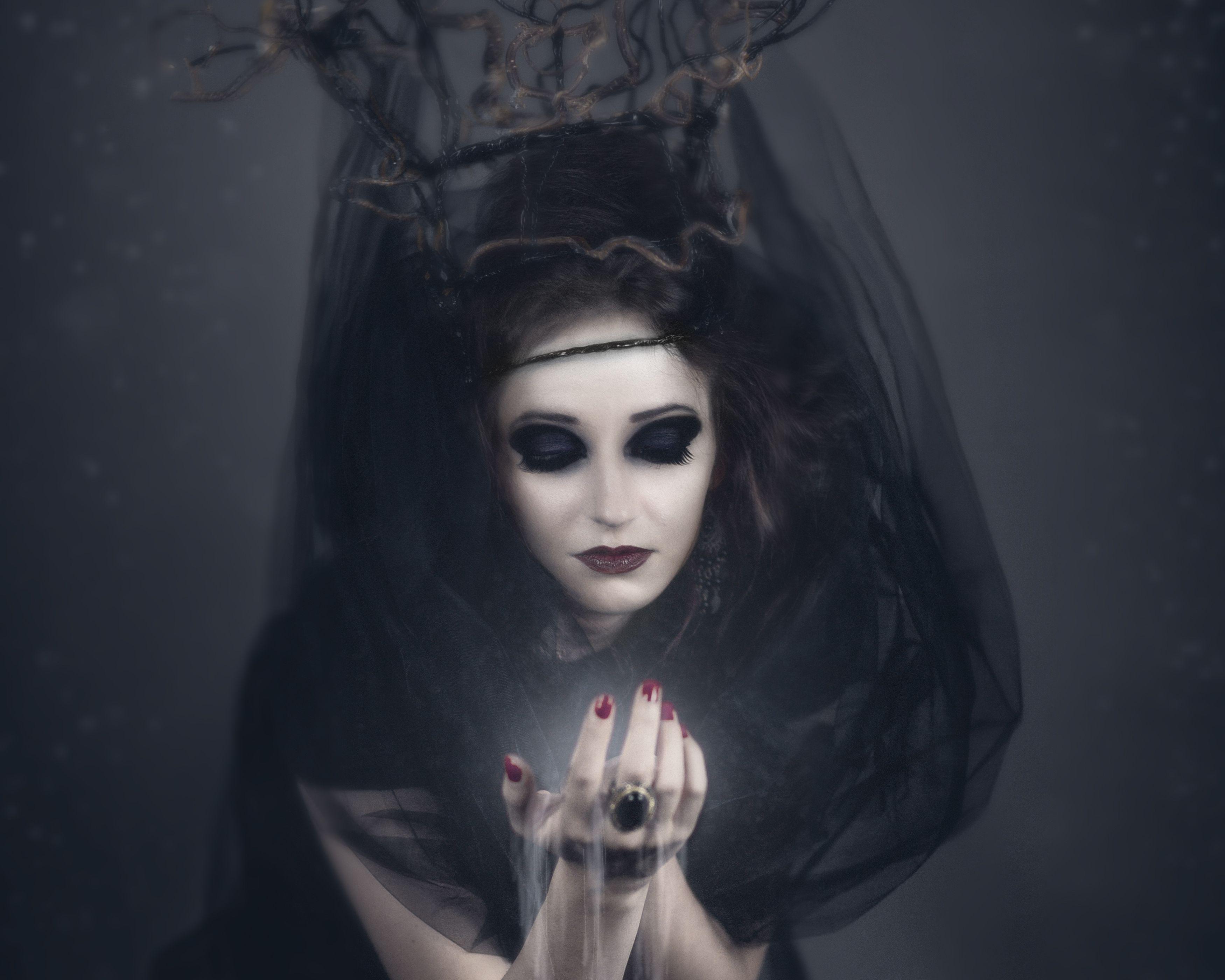 Dark Witch HD Wallpaper