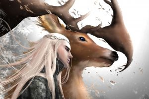 Thranduil and his Elk (The Hobbit) HD