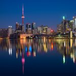 Toronto At Nightfall