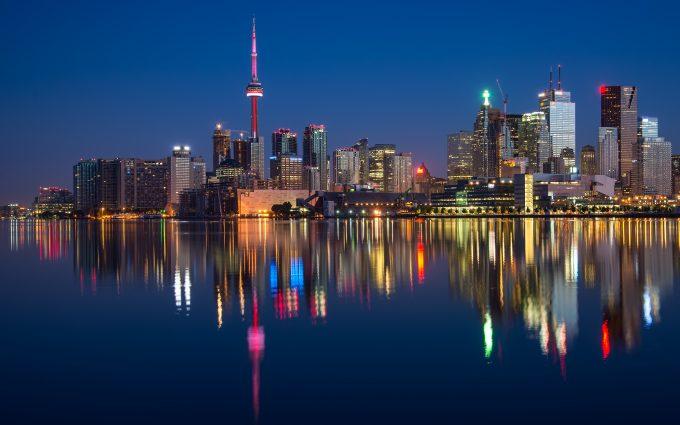 Toronto At Nightfall