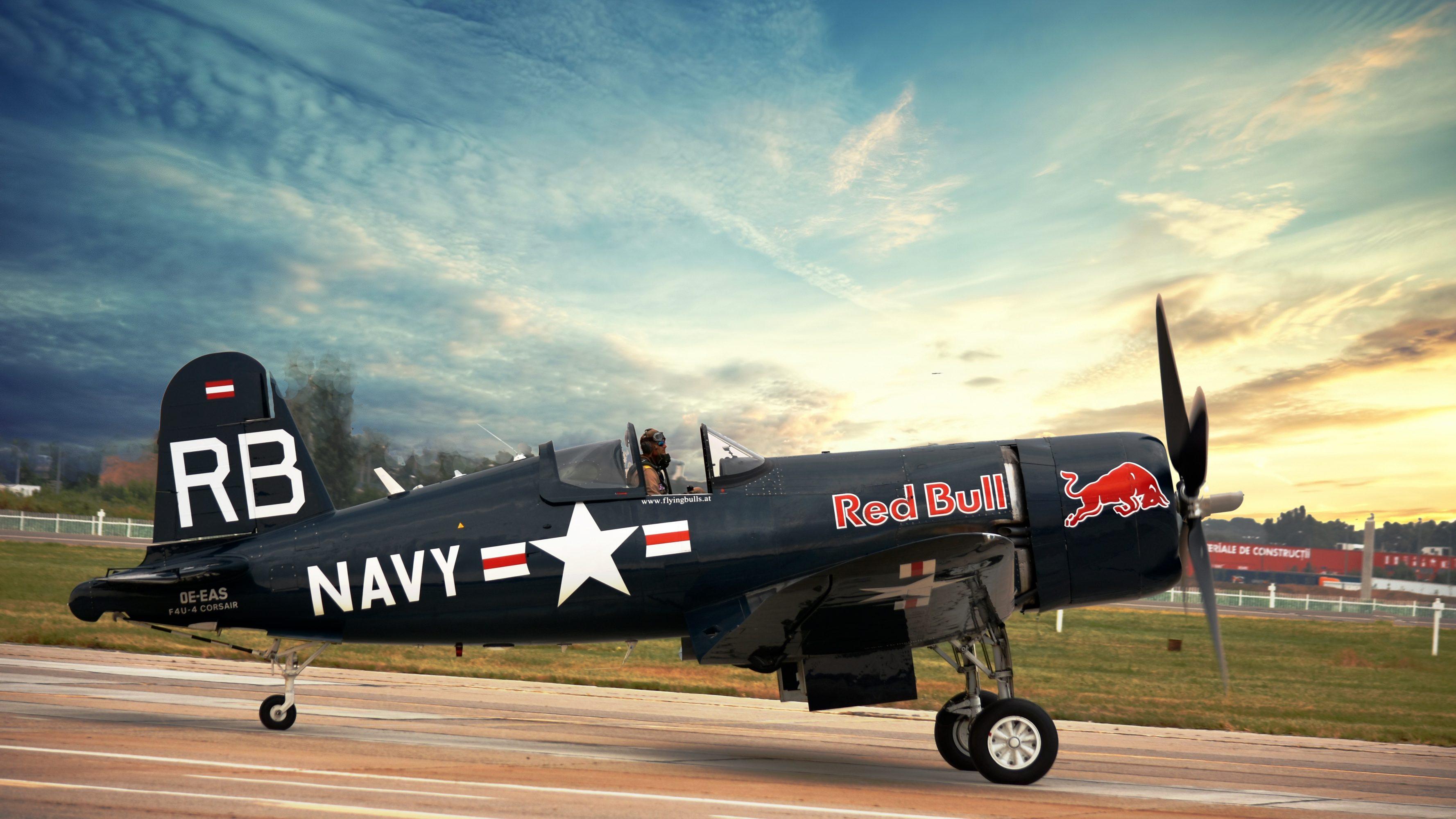 Vought F4U Corsair Flying Bulls 6K UHD