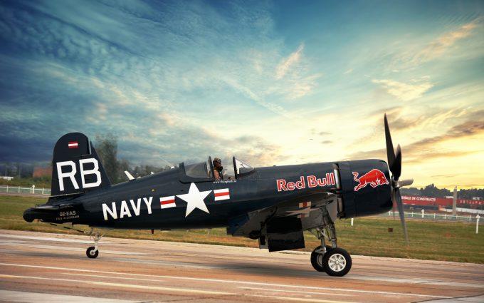 Vought F4U Corsair Red Bull