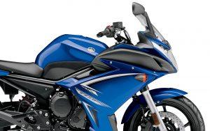 Yamaha FZ6R 2009 (Blue) HD