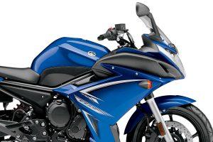 Yamaha FZ6R 2009 Blue