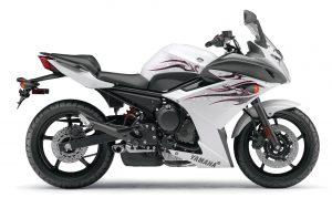 Yamaha FZ6R 2009 (White) HD