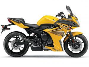 Yamaha FZ6R 2009 (Yellow) HD