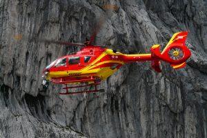 Rescue Helicopter (OE SHS Alpin Heli 6 – Eurocopter EC135) HD
