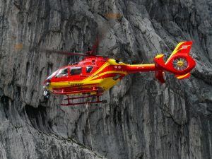 Rescue Helicopter (OE SHS Alpin Heli 6 – Eurocopter EC135) HD