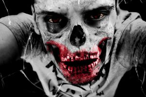 Zombie face HD