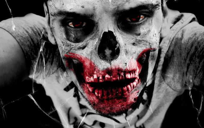 Zombie Face 01