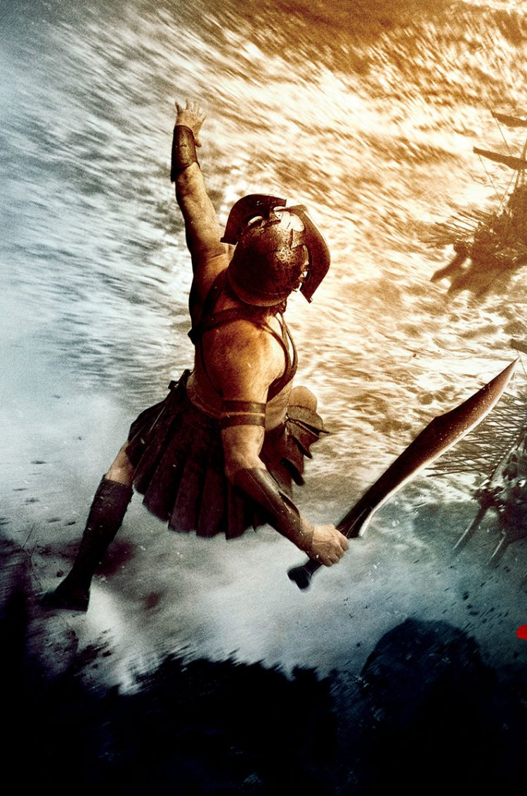 "300: Rise of an Empire ""Jump"" HD Wallpaper"
