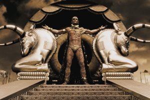 300 Xerxes On His Throne
