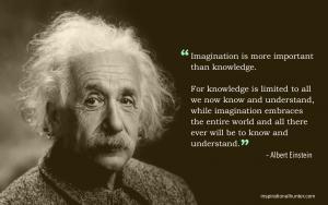 Albert Einstein: Imagination (Quote) HD