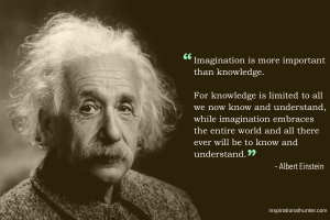 Albert Einstein: Imagination (Quote) HD