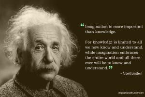 Albert Einstein Imagination Quote