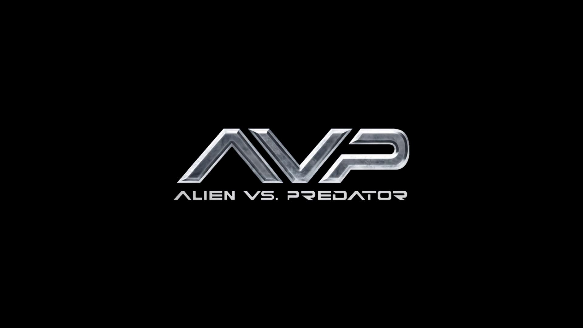Avp Alien Vs Predator Logo Hd Wallpaper