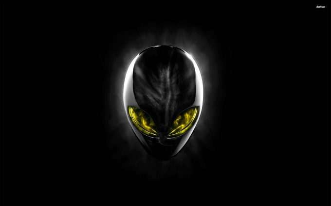Alienware EclipseHead Black and Yellow
