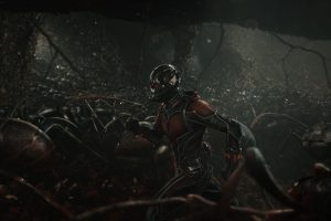 Ant Man Running With Ants