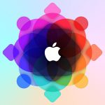 Apple WWDC Colorful Logo 5K