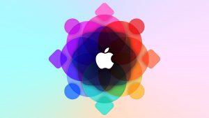 Apple WWDC Colorful Logo 5K