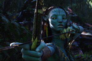 Avatar Neytiri With An Bow