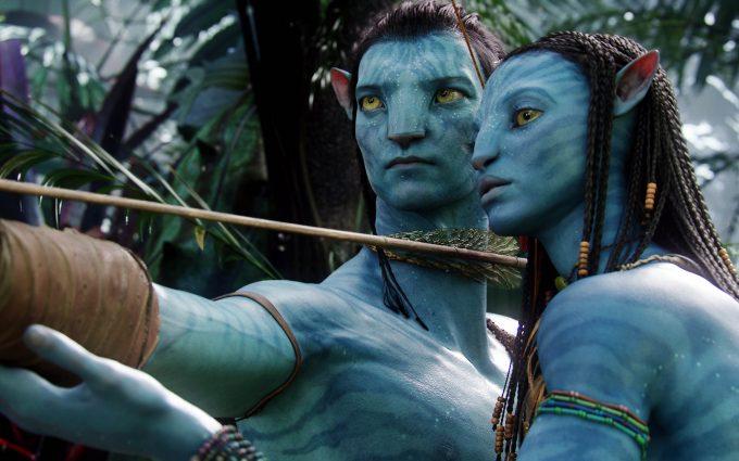 Avatar Neytiri and Jake Sully