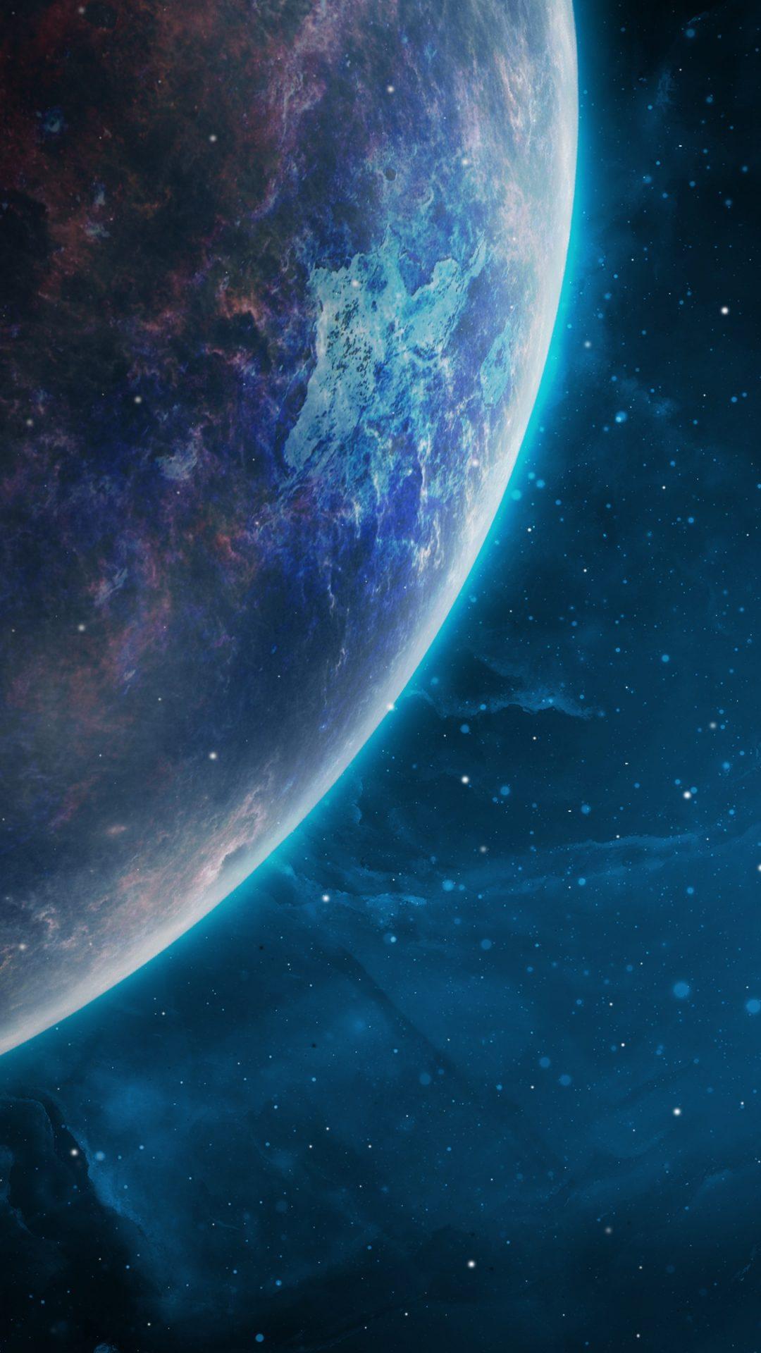 Blue Planet 4K UHD Wallpaper