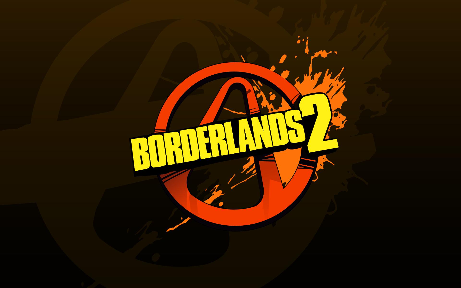 borderlands 2: logo hd wallpaper | wallpapers.gg