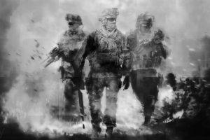 Call of Duty: Modern Warfare 2 (B&W) HD