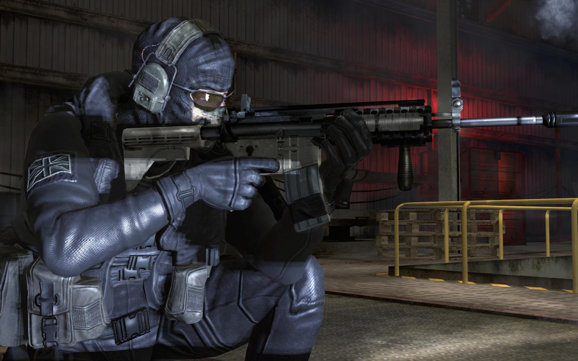 Call Of Duty Modern Warfare 2 Ghost Ig Hd Wallpaper
