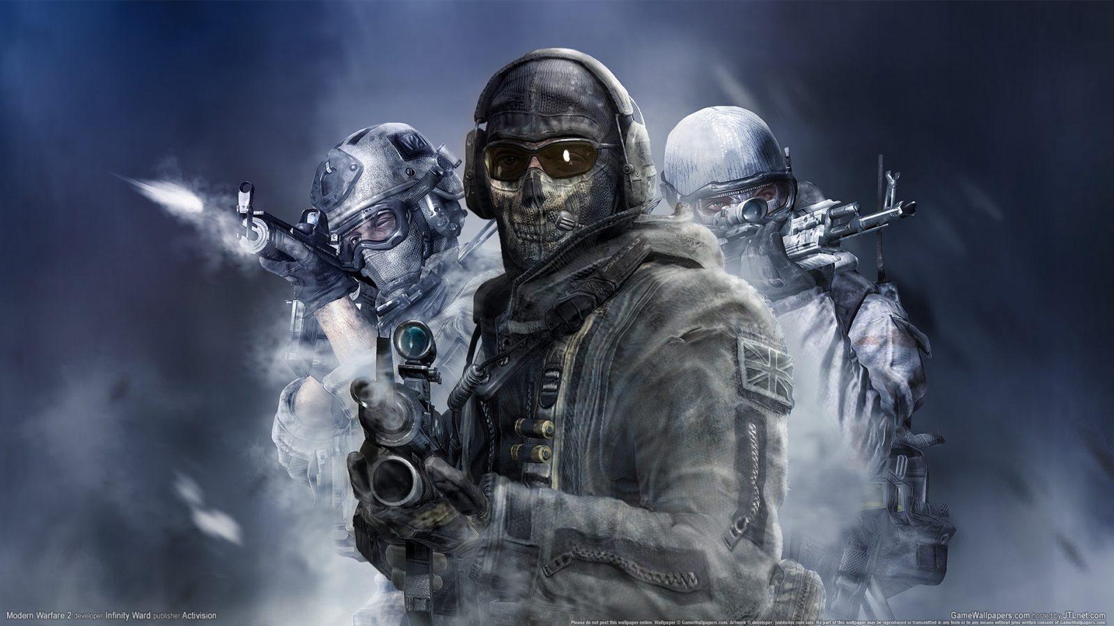 Call Of Duty Modern Warfare 2 Ghost 2 Hd Wallpaper