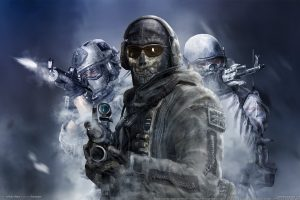 "Call of Duty: Modern Warfare 2 – Simon ""Ghost"" Riley (2) HD"