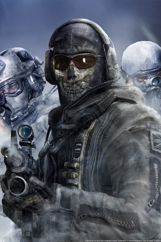 Call Of Duty Modern Warfare 2 Ghost 2 Hd Wallpaper