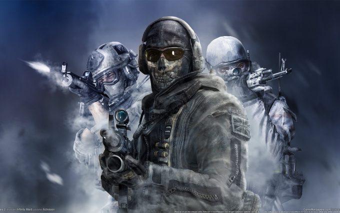 Call of Duty Modern Warfare 2 Simon Ghost Riley v2