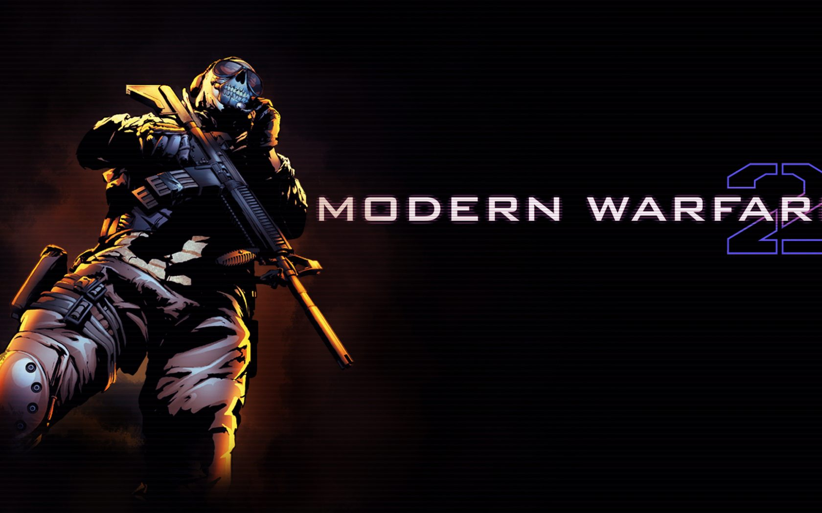 Call Of Duty Modern Warfare 2 Ghost 3 Hd Wallpaper