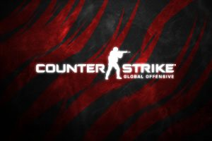 Counter-Strike: Global Offensive (Black & Red Logo) HD