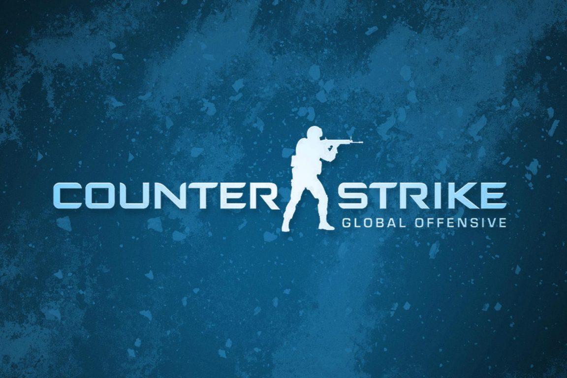 Counter-Strike: Global Offensive (Blue Logo) HD Wallpaper ...