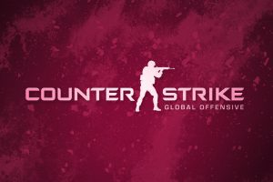 Counter Strike Global Offensive Pink Logo