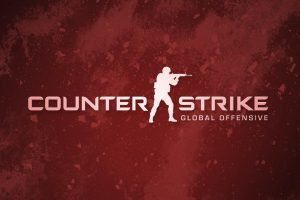 Counter Strike Global Offensive Red Logo