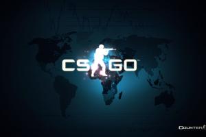 Counter Strike Global Offensive World Map Logo