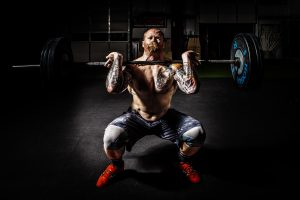 Crossfit Clean and Jerk 4K