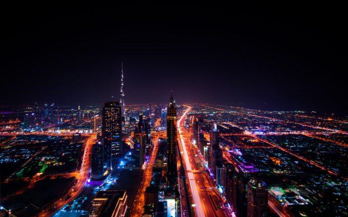 Dubai At Night 7K