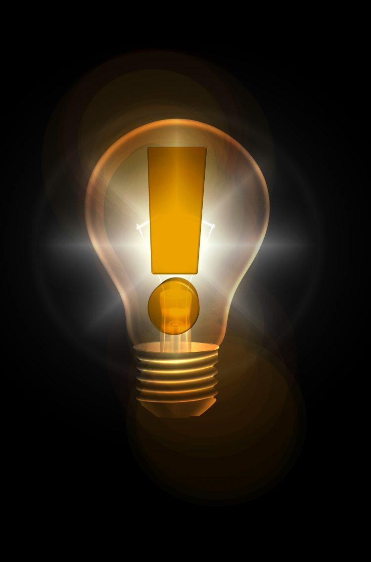idea bulb 5k uhd wallpaper